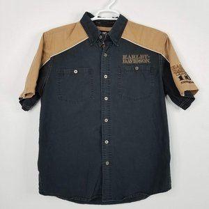 Harley Davidson 110th Anniversary Mechanic Shirt L